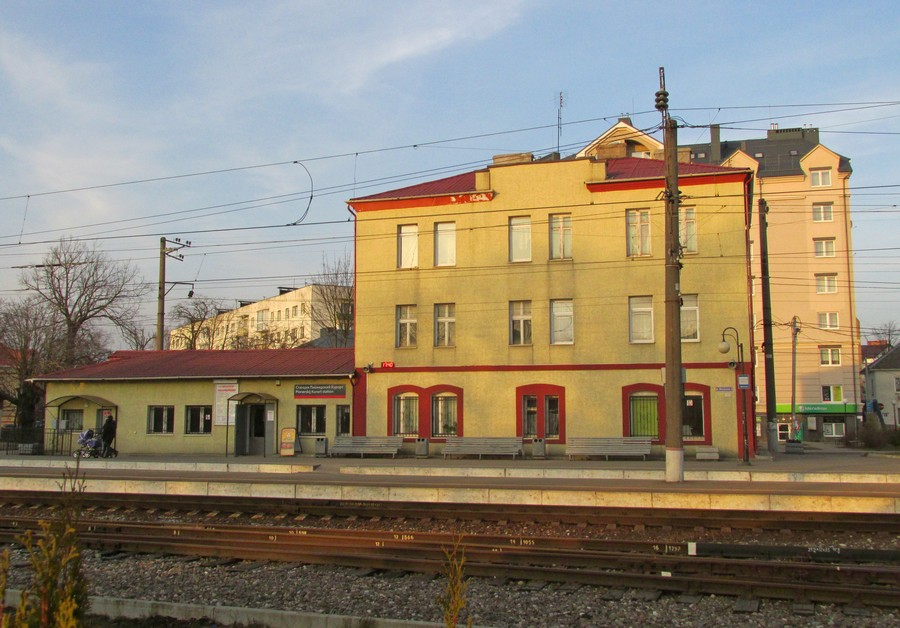 Вокзал Пионерский