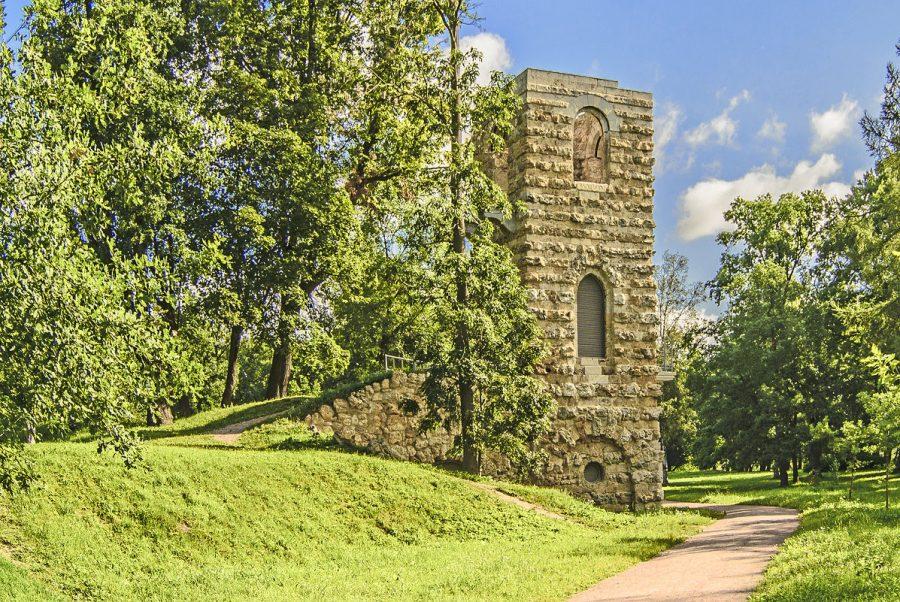 Башня Руина Стрельна
