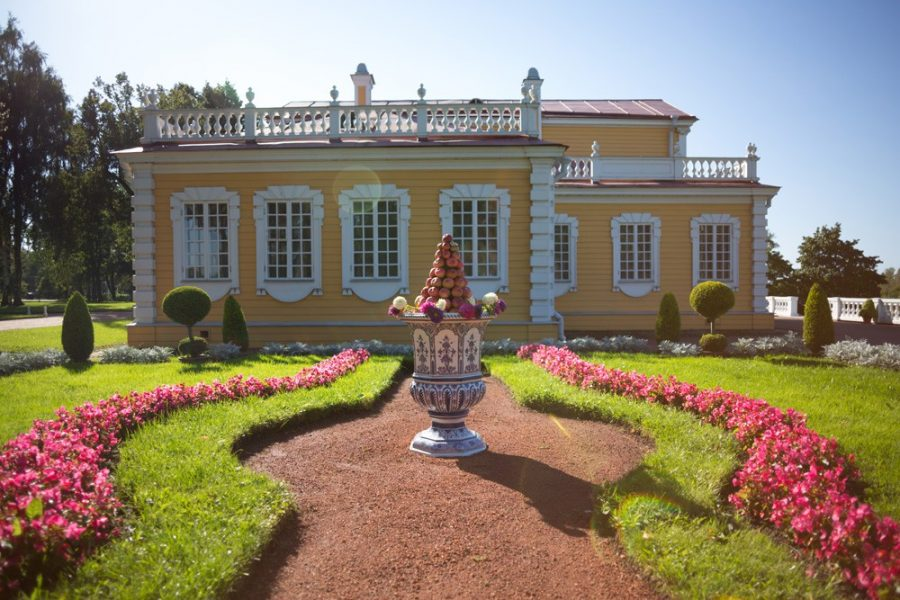 Путевой дворец Петра I Стрельна