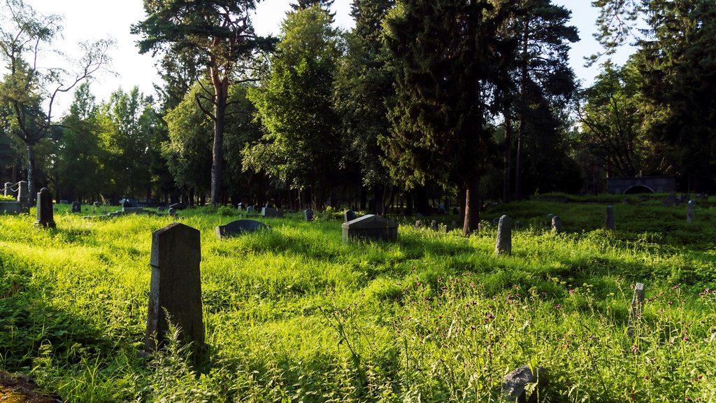 Старое финское кладбище Сортавала