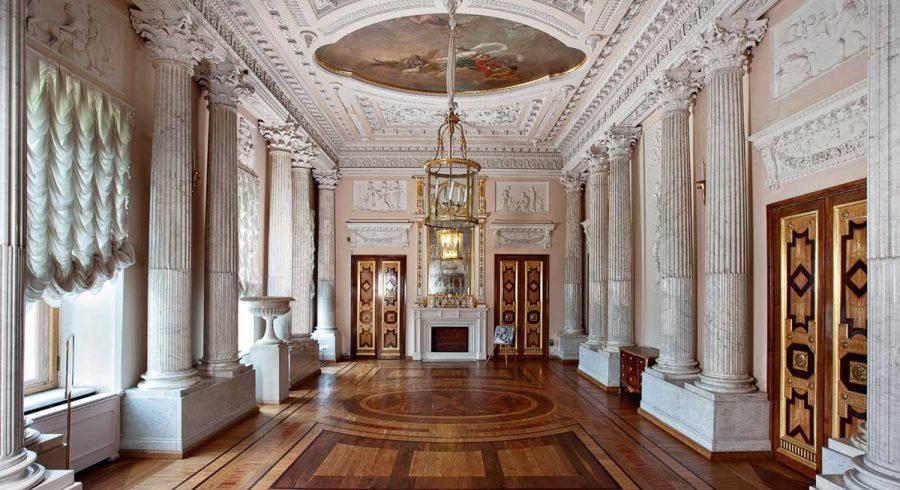Гатчинский дворец Мраморная столовая