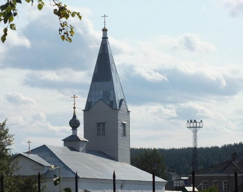 Храм пророка Илии Медвежьегорск