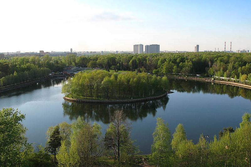Круглый пруд Измайловский парк