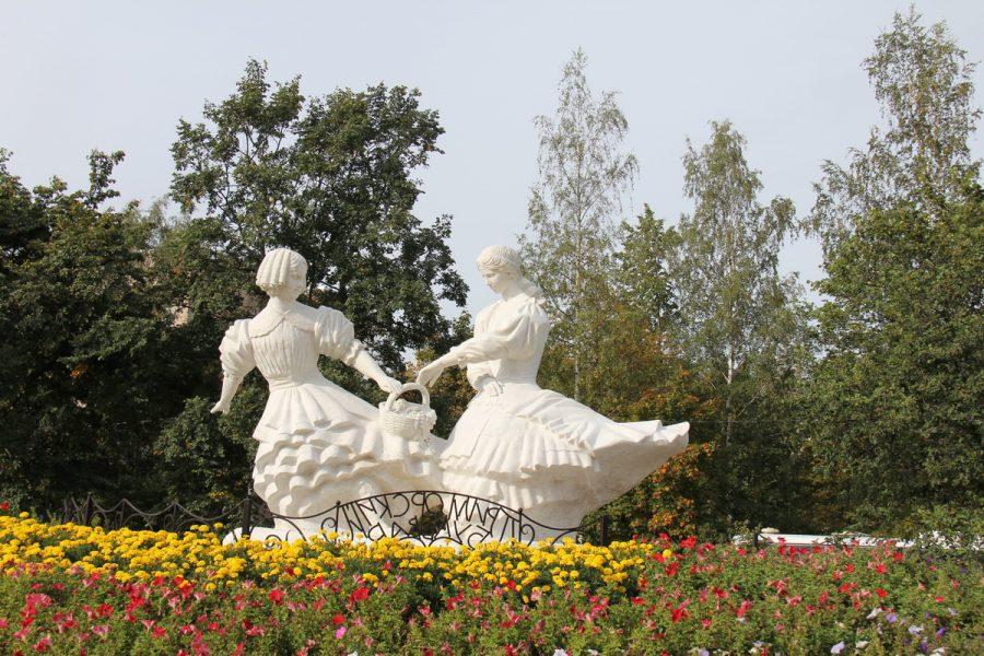 Памятник Две сестры