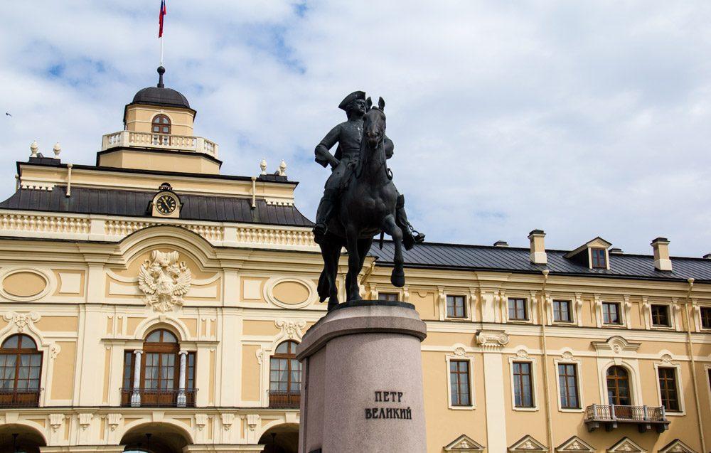 памятник Петру I Стрельна