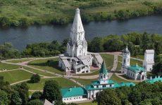 Парк Коломенское: царский дворец и Вознесенская церковь
