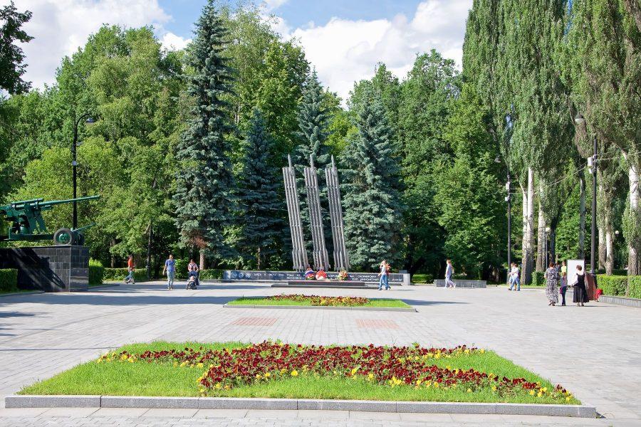 площадь Мужества Измайловский парк