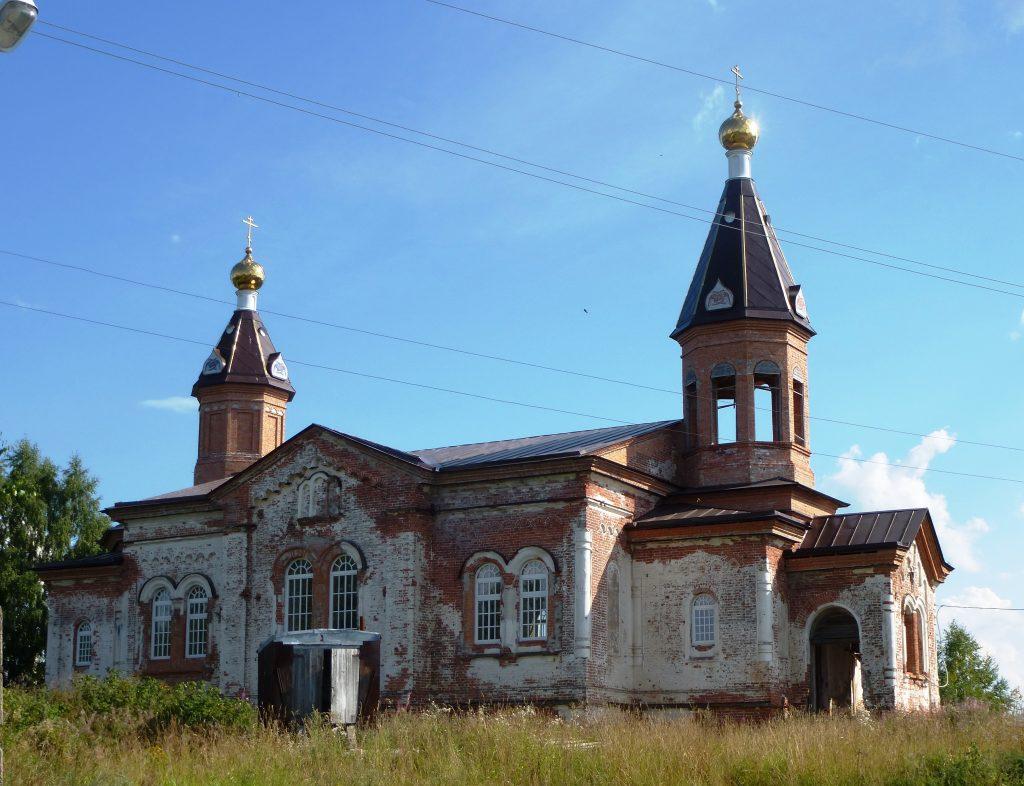Троицкая церковь Кончезеро