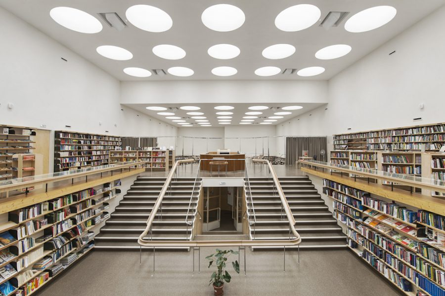 Библиотека Альвара Аалто