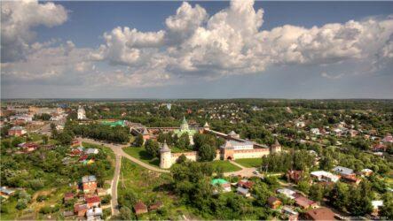 Достопримечательности Зарайска: кремль и старинные храмы