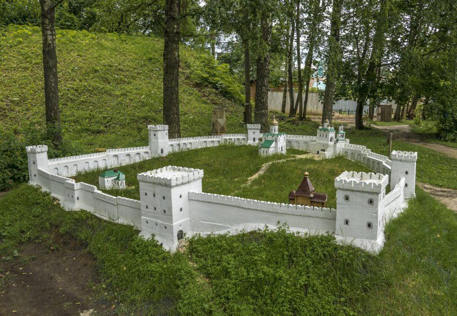 Макет Можайского кремля