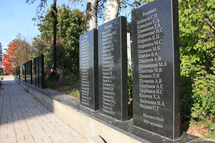 Мемориал ВОВ Можайск
