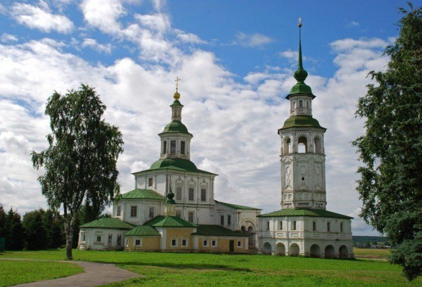 Церковь Николая Чудотворца Великий Устюг