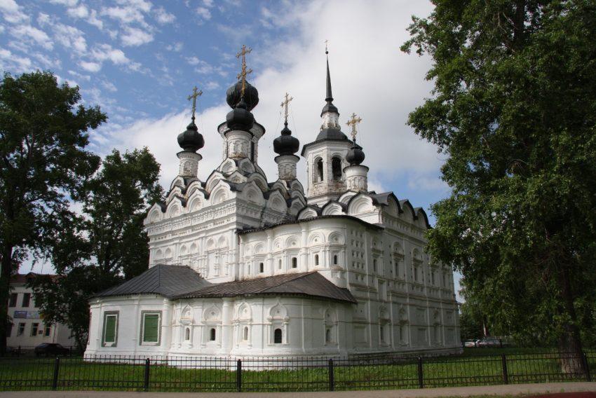 Церковь Вознесения Великий Устюг