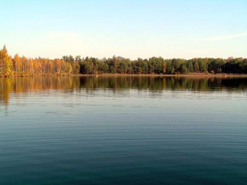 Озеро Глубокое Московская область