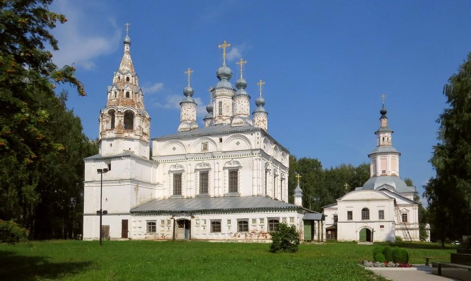 Спасо-Преображенский монастырь Великий Устюг