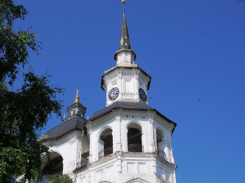 Колокольня Успенского собора Великий Устюг