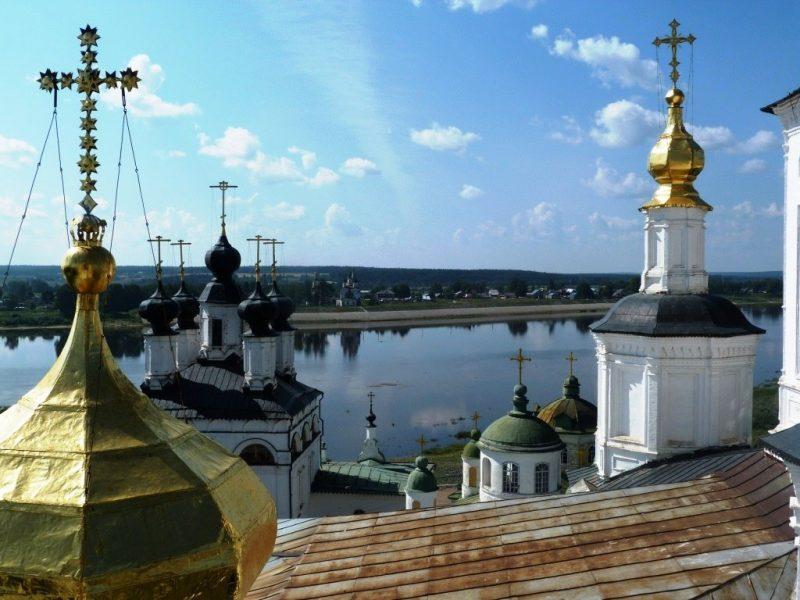 Вид с Успенского собора Великий Устюг