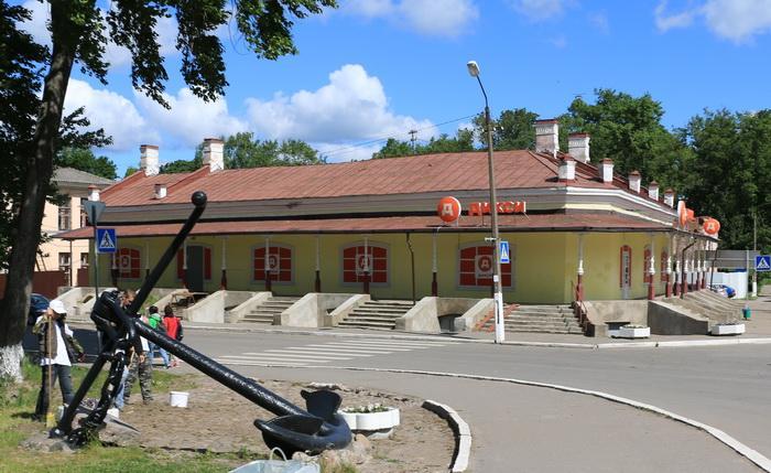 Бывший Гостиный двор Шлиссельбург