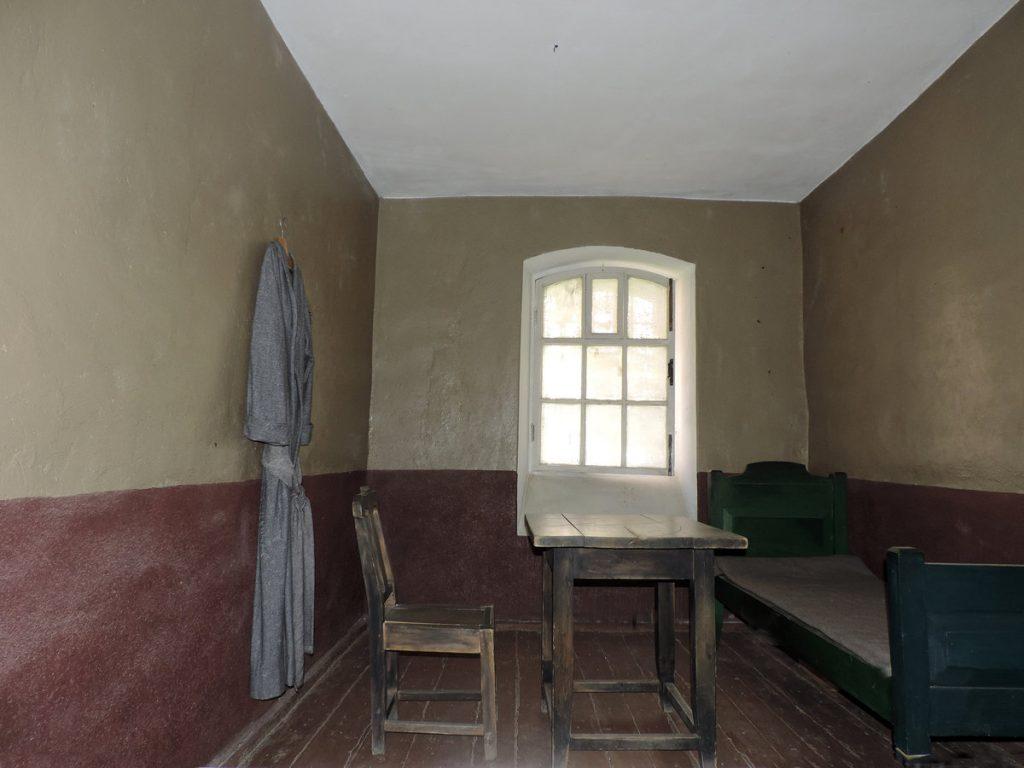 Камера в старой тюрьме Шлиссельбурга