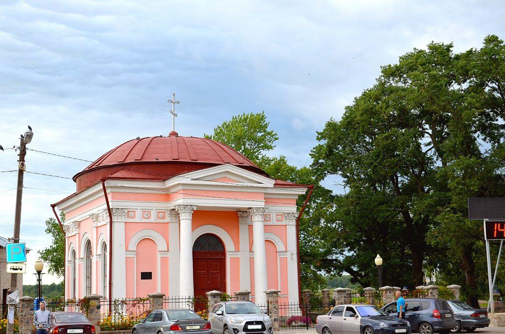 Казанская часовня в Шлиссельбурге