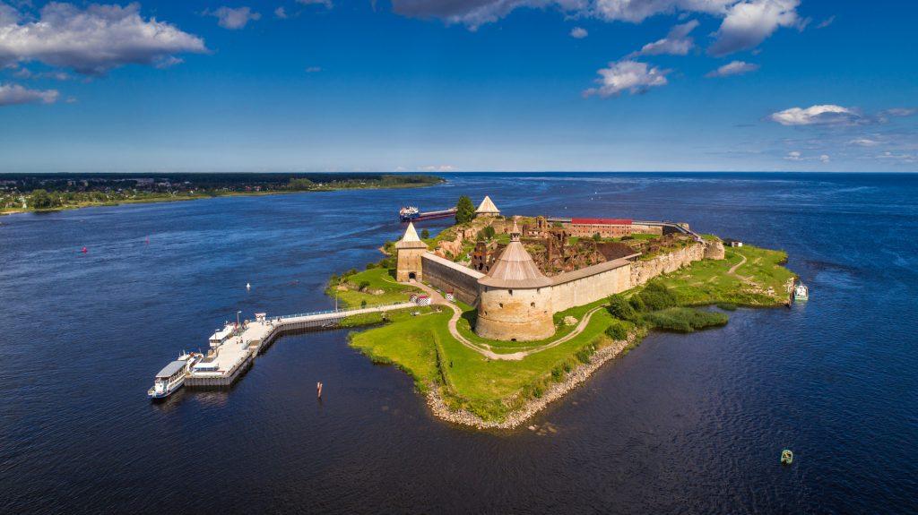Крепость Орешек сверху