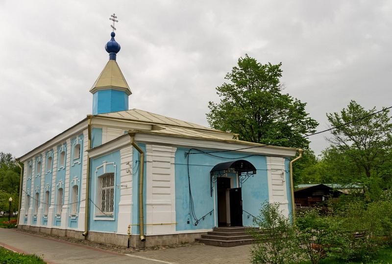 Никольская церковь Шлиссельбург