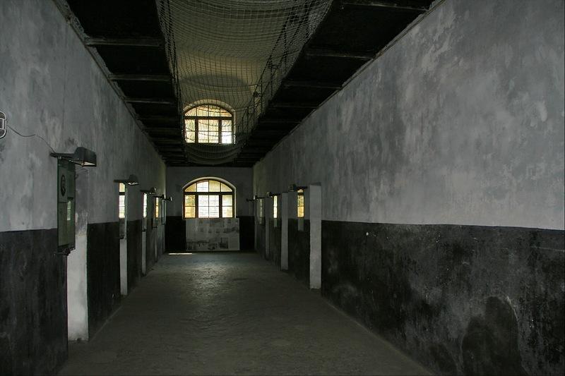 Новая тюрьма Шлиссельбург, коридор
