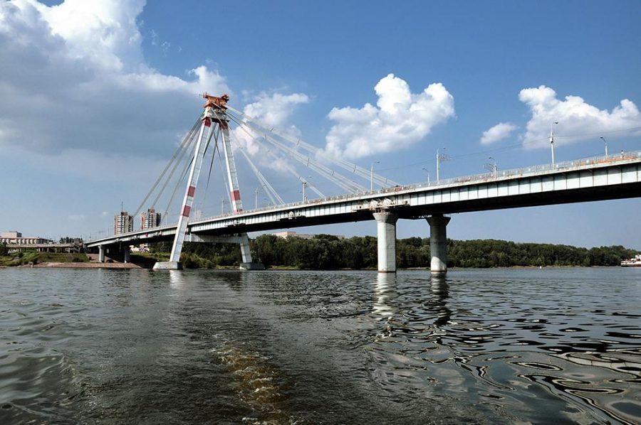 Октябрьский мост Череповец