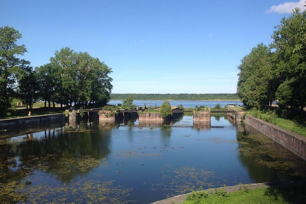 Староладожский канал Шлиссельбург