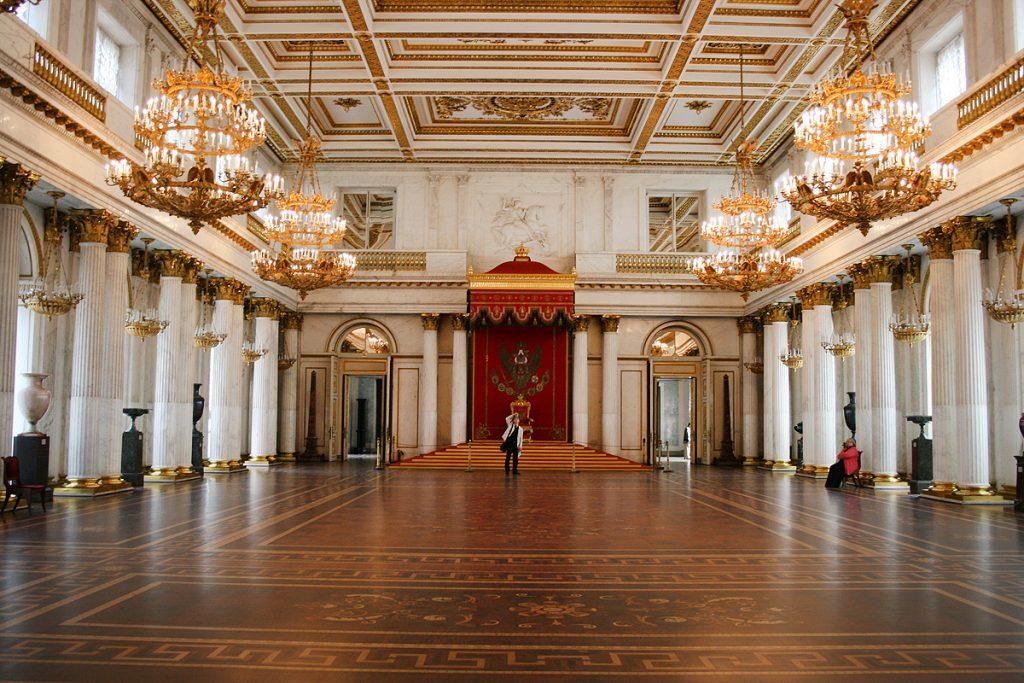Большой Тронный зал Эрмитаж