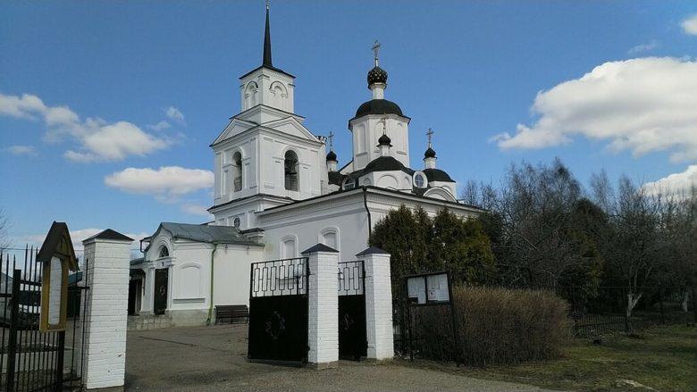 Церковь Дмитрия Солунского Руза