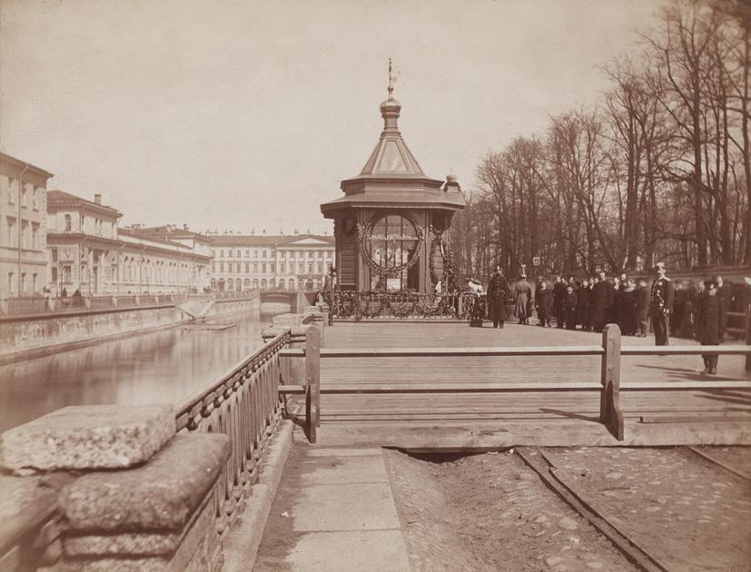 Часовня Бенуа на месте смерти Александра II