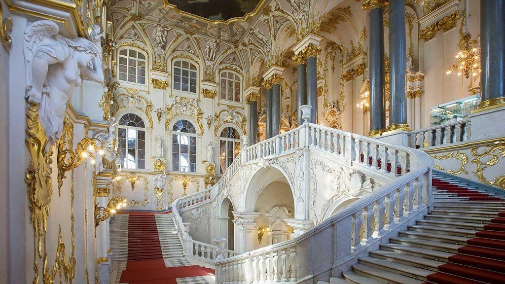 Иорданская лестница Зимний дворец