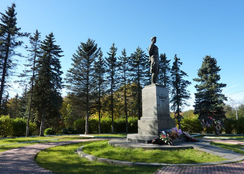Памятник Зое Космодемьянской на Минском шоссе