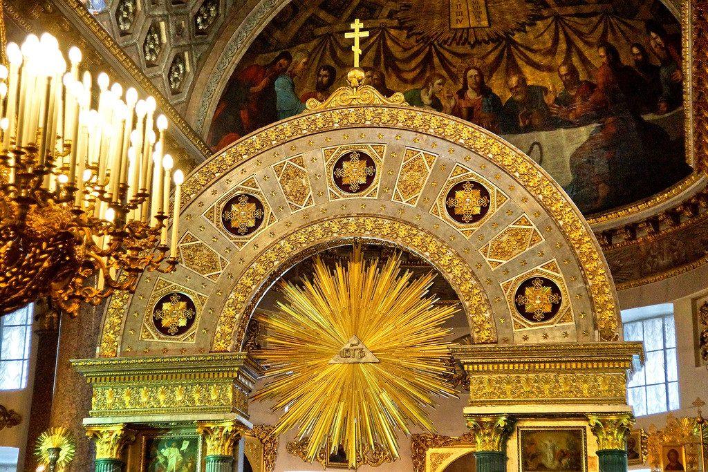 Казанский собор алтарь