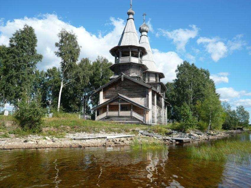 Богоявленская церковь Челмужи