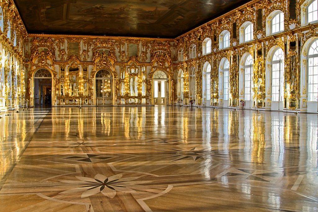 Большой зал Екатерининский дворец
