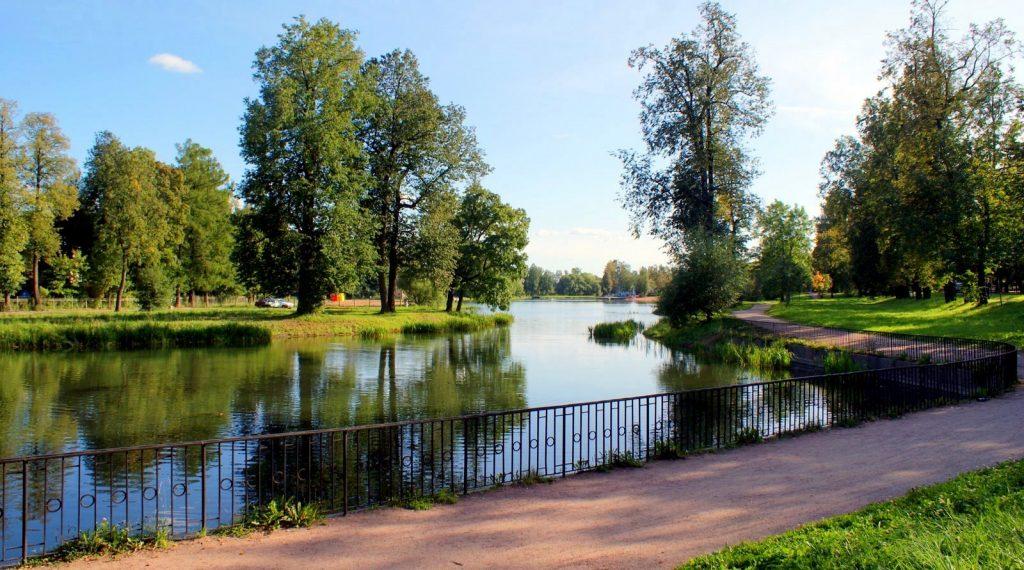 Колонистский пруд Пушкин