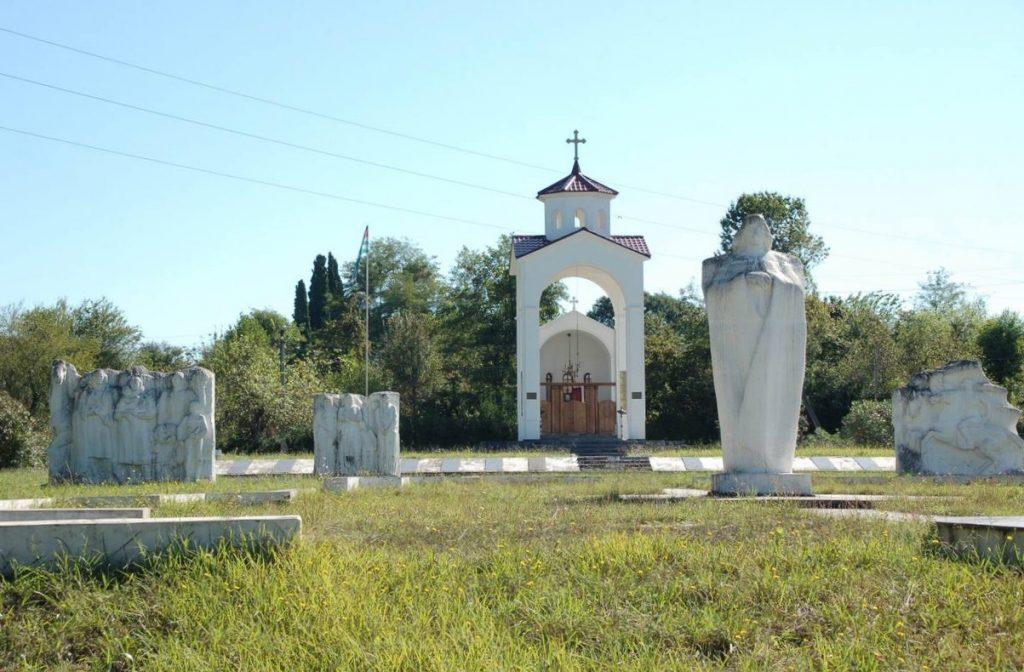 Мемориал погибшим село Лыхны