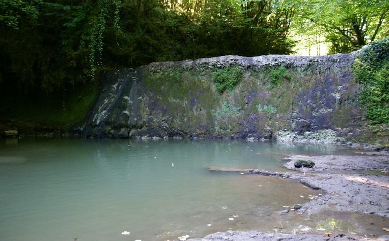 Сероводородный источник Приморское Абхазия