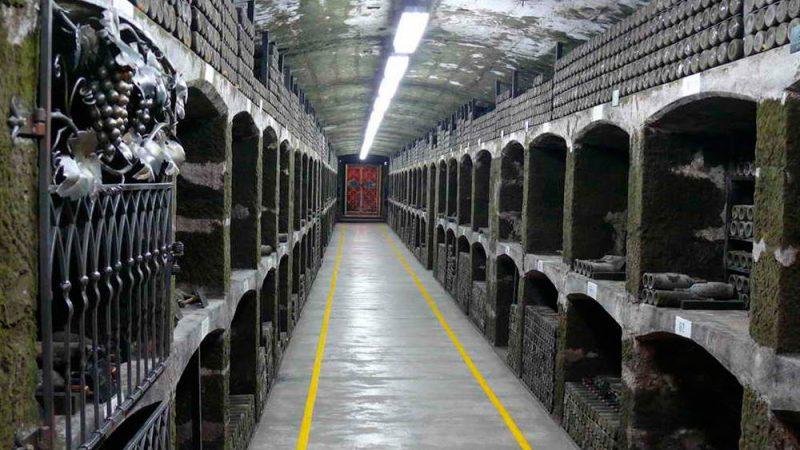 Энотека Массандровского завода