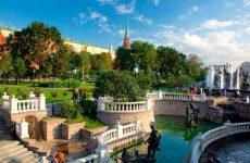 Александровский сад в Москве: достопримечательности