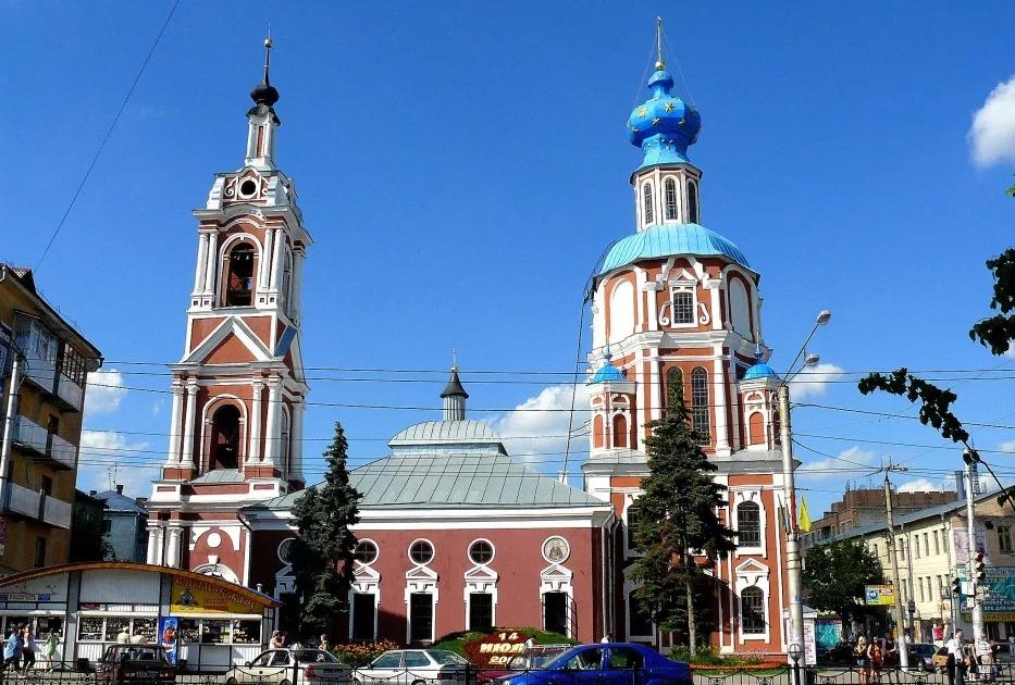 Церковь Иоанна Предтечи Калуга