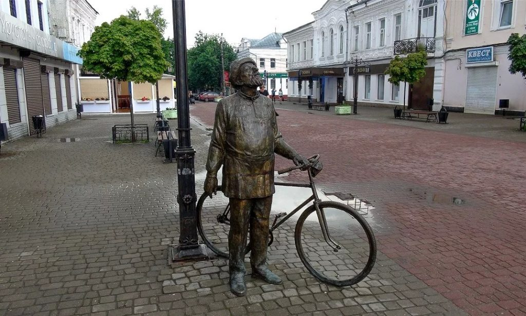 Памятник Циолковскому Калуга
