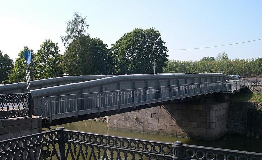 Доковый мост Кронштадт