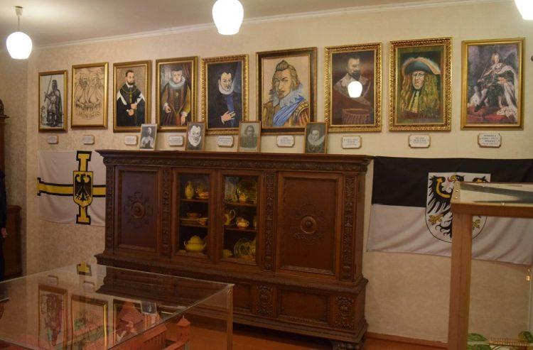 Портретная галерея владельцев замка