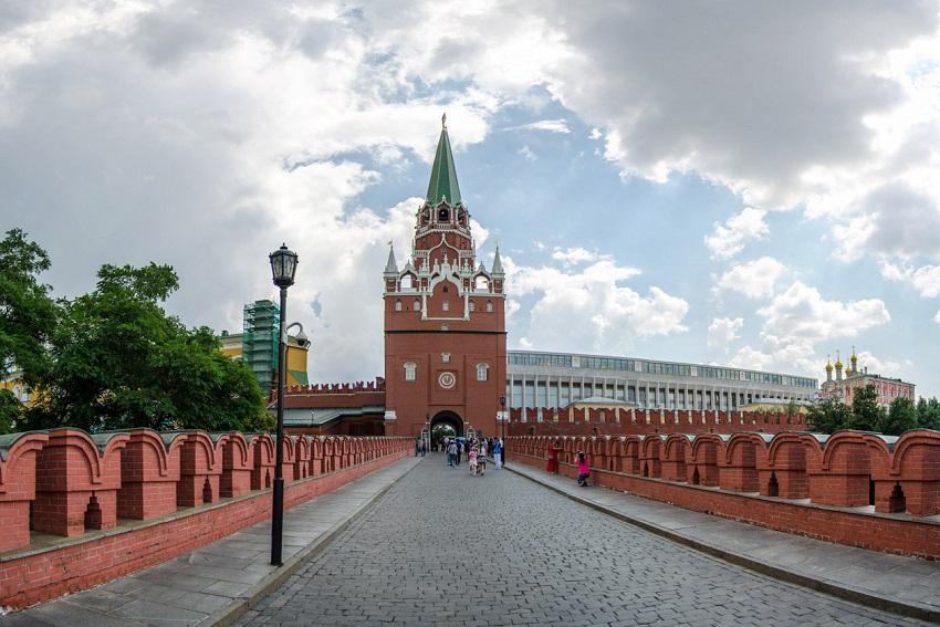 Троицкий мост Кремль