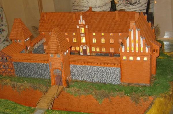 Вальдавский замок макет