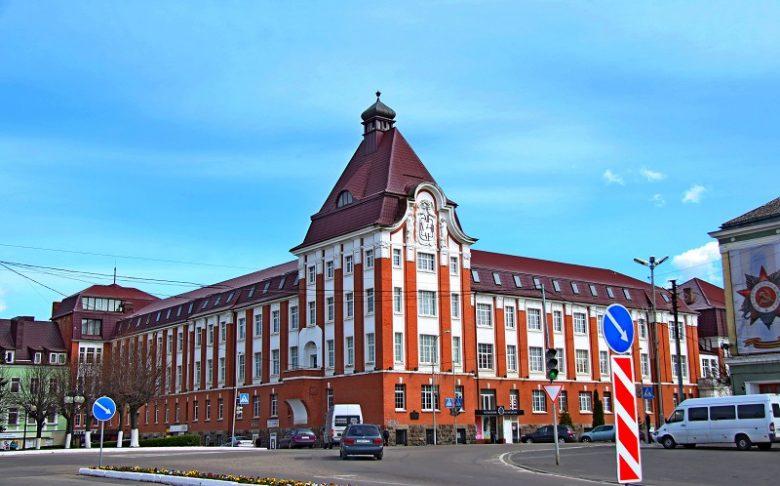 Здание управления Гумбиннена